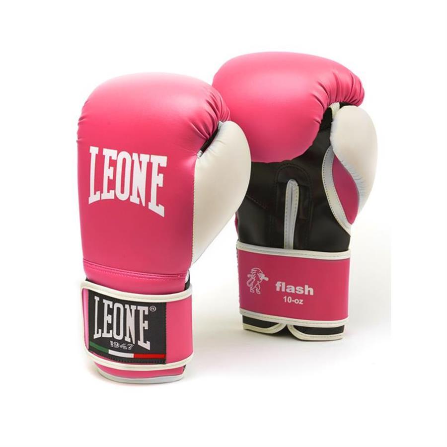LEONE SPORT GUANTONI DA BOXE 10OZ FLASH GN083 BOXE KICK THAI GIALLO
